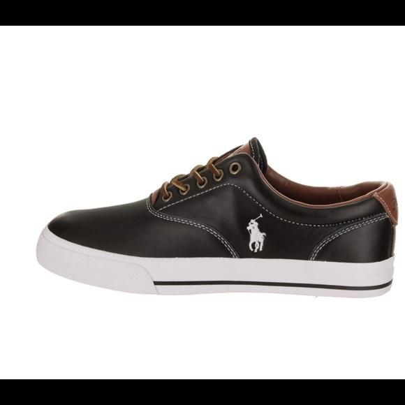 Black New Black Polo Ralph Lauren Mens